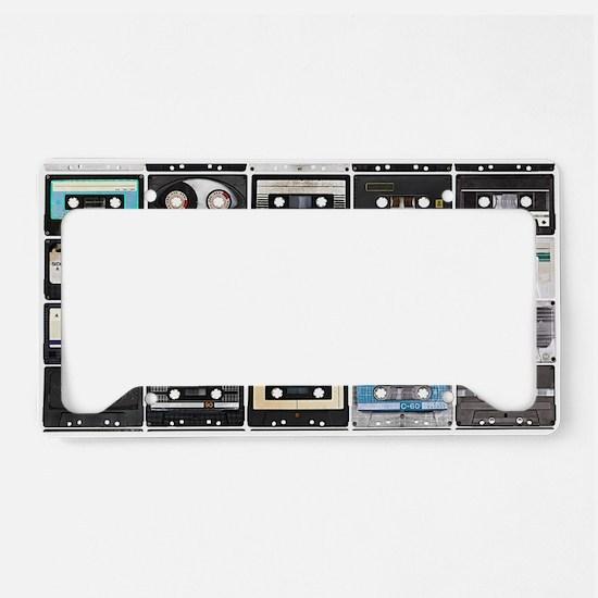 Cassette Tapes License Plate Holder