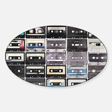 Cassette Tapes Decal