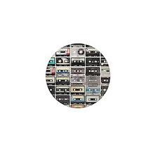 Cassette Tapes Mini Button