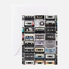 Cassette Tapes Greeting Cards