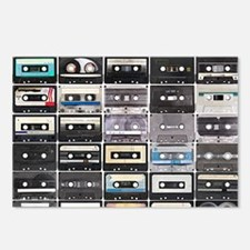 Cassette Tapes Postcards (Package of 8)