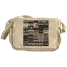 Cassette Tapes Messenger Bag