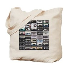 Cassette Tapes Tote Bag