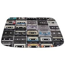 Cassette Tapes Bathmat