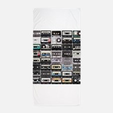 Cassette Tapes Beach Towel