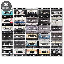 Cassette Tapes Puzzle