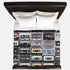 Cassette Tapes King Duvet