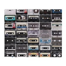Cassette Tapes Throw Blanket