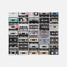 Cassette Tapes Throw Blanket