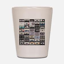 Cassette Tapes Shot Glass
