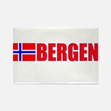 Bergen, Norway Rectangle Magnet