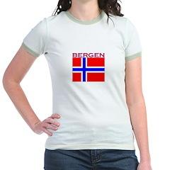 Bergen, Norway Flag T