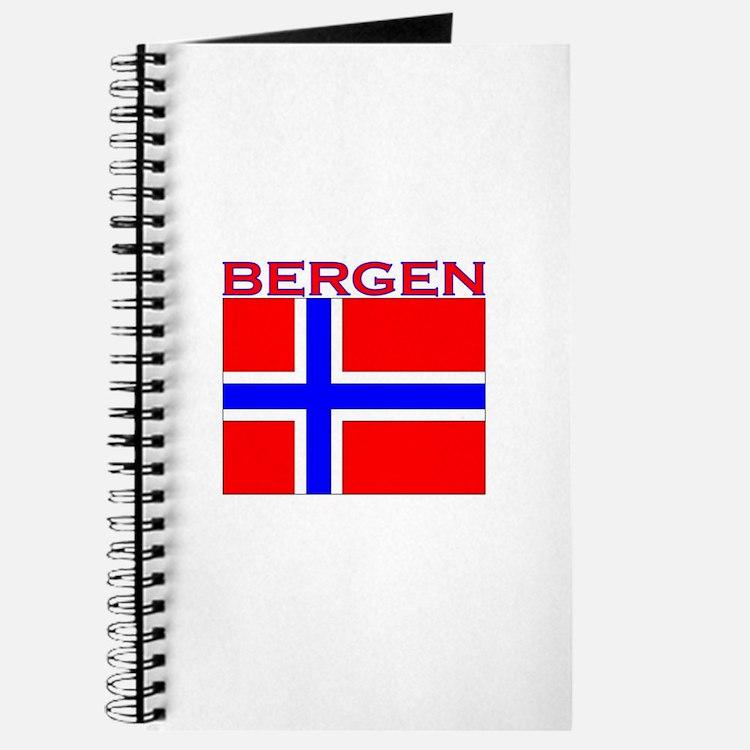 Bergen, Norway Flag Journal