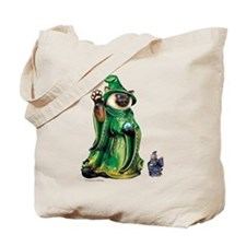 Cat and Mouse Wizards Tote Bag