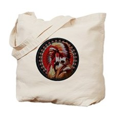 Stained Glass Chief Tote Bag