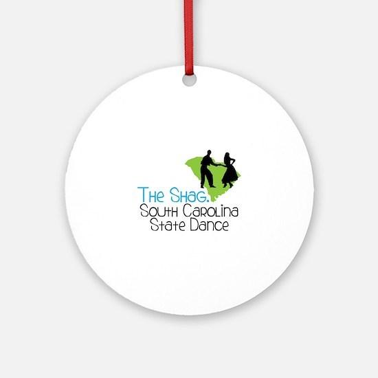 THe SHaG. SoUtH CaRoLina State Dance Ornament (Rou