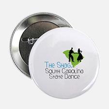 """THe SHaG. SoUtH CaRoLina State Dance 2.25"""" Button"""