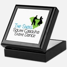 THe SHaG. SoUtH CaRoLina State Dance Keepsake Box