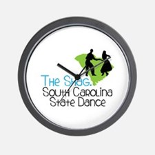 THe SHaG. SoUtH CaRoLina State Dance Wall Clock