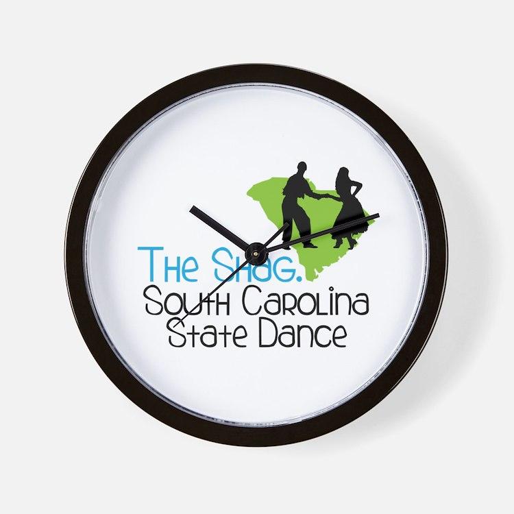 THe SHaG. SoUtH CaRoLina State Dance Wall Clock