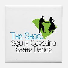 THe SHaG. SoUtH CaRoLina State Dance Tile Coaster