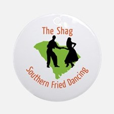 The Shag Southern Fried Dancing Ornament (Round)