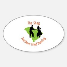 The Shag Southern Fried Dancing Decal