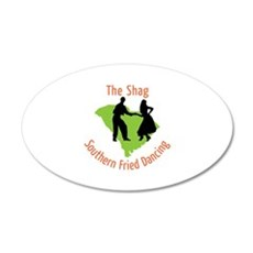 The Shag Southern Fried Dancing Wall Decal