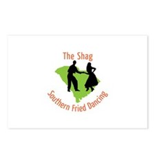 The Shag Southern Fried Dancing Postcards (Package