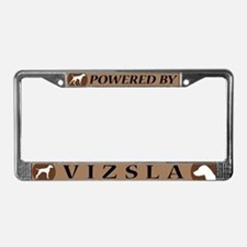 Vizsla License Plate Frame