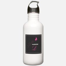 Custom Monogram Butter Water Bottle