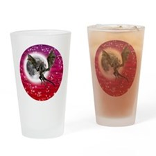 Black Dragon Drinking Glass
