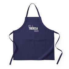 Its A Theresa Thing Apron (dark)