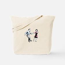 Shag Dancers Tote Bag