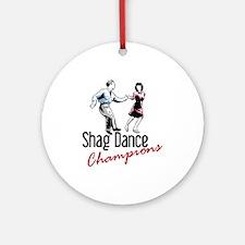 Shag Dance Champions Ornament (Round)