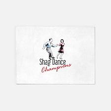 Shag Dance Champions 5'x7'Area Rug