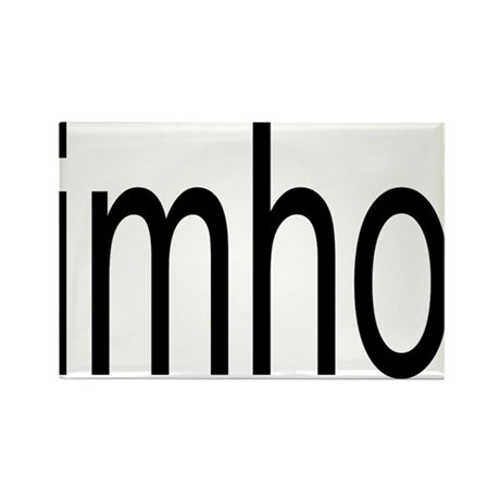 imho Rectangle Magnet (100 pack)