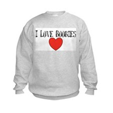 I heart bobbies Sweatshirt