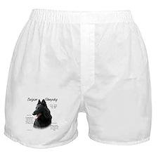 Belgian Sheepdog Boxer Shorts