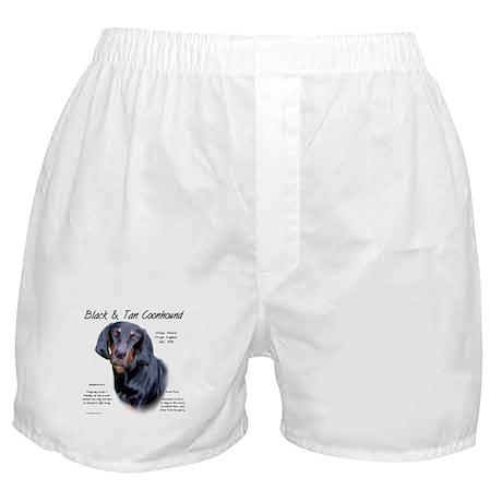 Black & Tan Boxer Shorts
