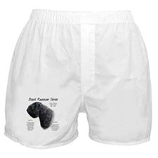 Black Russian Boxer Shorts