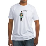 Head Exam Fitted T-Shirt