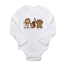 Wizards Long Sleeve Infant Bodysuit