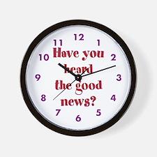 have You Heard... Wall Clock