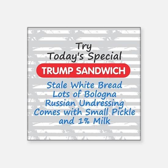 Trump Sandwich Sticker
