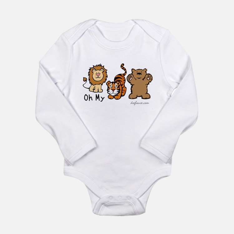 Cute Wizard of oz childrens Long Sleeve Infant Bodysuit