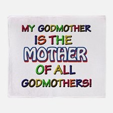 Godmother Design Throw Blanket