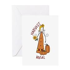 HARVEST ANGEL Greeting Cards