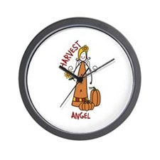HARVEST ANGEL Wall Clock
