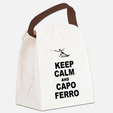 Keep Calm and Capo Ferro Canvas Lunch Bag